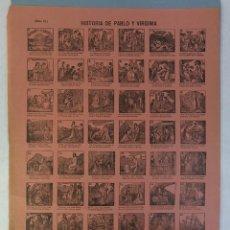 Coleccionismo: AUCA/ALELUYA HISTORIA DE PABLO Y VIRGINIA-SUCESORES DE HERNANDO. Lote 218898650