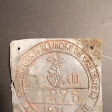 Coleccionismo: VALENCIA CHAPA ARBITRAJE RODAJE CARROS 1971. Lote 218925448
