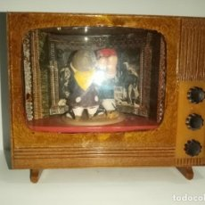 Coleccionismo: CAJITA TELEVISIÓN MUSICAL ANTIGUA. Lote 218934278
