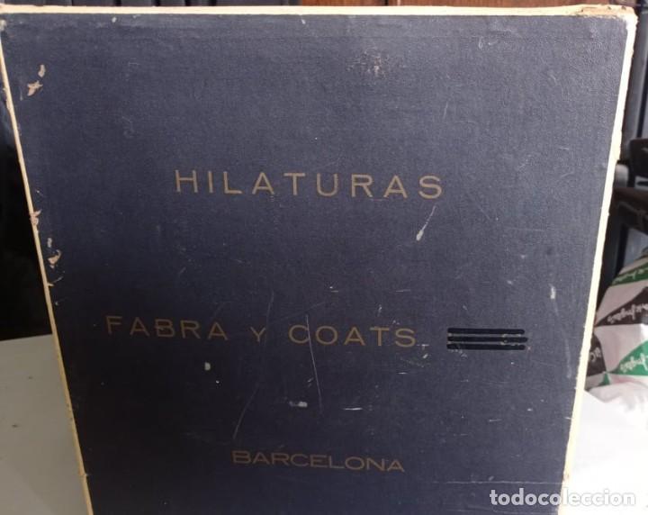 Coleccionismo: CAJA EXPOSITORA DE HILOS MARCA ELEFANTE - Foto 3 - 219077738
