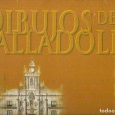 Coleccionismo: CARPETA CON 21 MAGNIFICAS LAMINAS DE 38 X 28 CM DE DIBUJOS DE VALLADOLID VER FOTOS. Lote 219437776