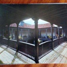 Coleccionismo: ASTURIAS, PATIO PALACIO DE DORIGA. SALAS. FOTO ARCHIVO G.E.A. 21X17,5 CM. Lote 219860528