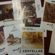 Collectionnisme: LOTE DE CATÁLOGOS EXPOSICIÓN DE PINTURAS.. Lote 219977857