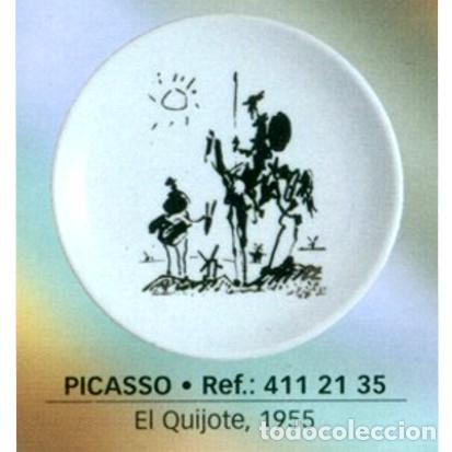 PLATO PICASSO 20 CM - QUIJOTE (1955) (Coleccionismo - Varios)