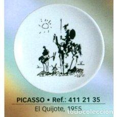 Coleccionismo: PLATO PICASSO 20 CM - QUIJOTE (1955). Lote 243646730