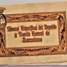 Coleccionismo: FOLLETO INFORMATIVO CÁMARAS FRIGORÍFICAS DEPÓSITO Y PUERTOS FRANCOS DE BARCELONA AÑO 1929. Lote 220579228