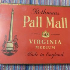 Coleccionismo: CAJA METÁLICA ROTHMANS PALL MALL VIRGINIA MEDIUM SPECIAL APPOINTMENT ENGLAND INGLATERRA. Lote 220898680