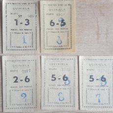Coleccionismo: BOLETOS QUINIELA FRONTON CHIKI JAI DE 1934 MADRID. Lote 220940736