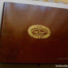 Coleccionismo: HUMIDOR CAJA PUROS JOSE GENER (FABORITOS DE ESPAÑA ( VACIA - COLECC). Lote 221468361