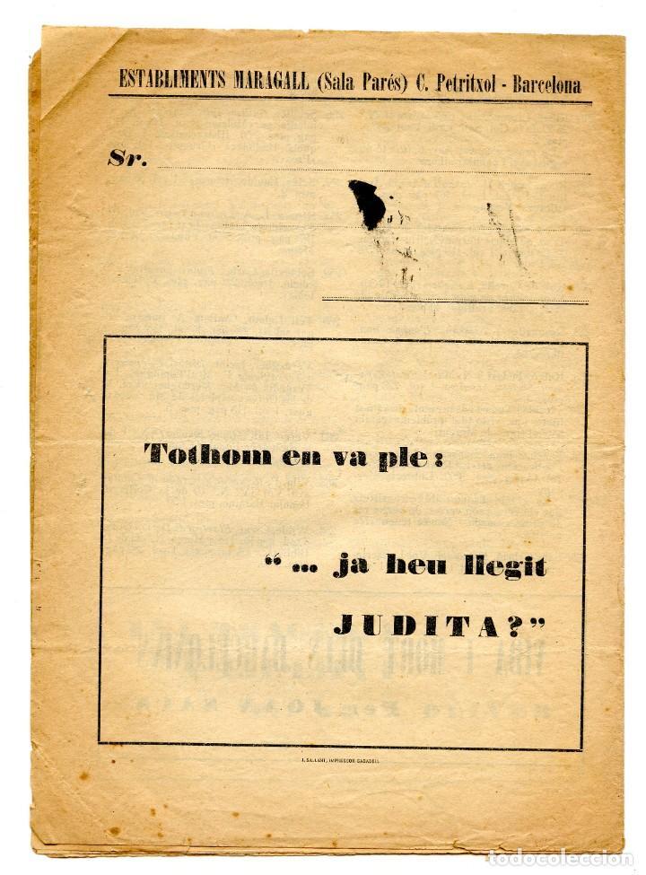 Coleccionismo: Butlletí editoriall (Abril 1930) Els llibres del mes ( Establiments Maragall Sala Parés, Barcelona) - Foto 2 - 221517077