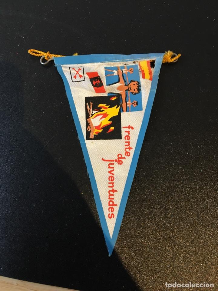 BANDERIN FRENTE DE JUVENTUDES FALANGE ESPAÑA (Coleccionismo - Varios)