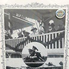 Collectionnisme: 1912 HOJA.CONCURSO HIPICO EN SAN SEBASTIAN.TENIENTE CABALLERIA SARRIA.TRIBUNA REGIA.HIPODROMO.GOÑI. Lote 221671793