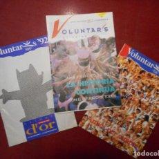Coleccionismo: LOTE PAPELES VOLUNTARIOS OLÍMPICO. BARCELONA 92.. Lote 221745655