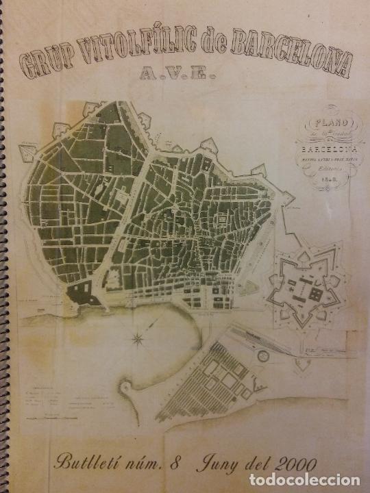 GRUP VITOLFILIC DE BARCELONA. A.V.E. BUTLLETÍ NÚM 8. JUNY DEL 2000 (Coleccionismo - Laminas, Programas y Otros Documentos)