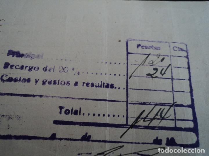 Coleccionismo: impuestos locales, villagarcia del llano 19...?? - Foto 2 - 221789067