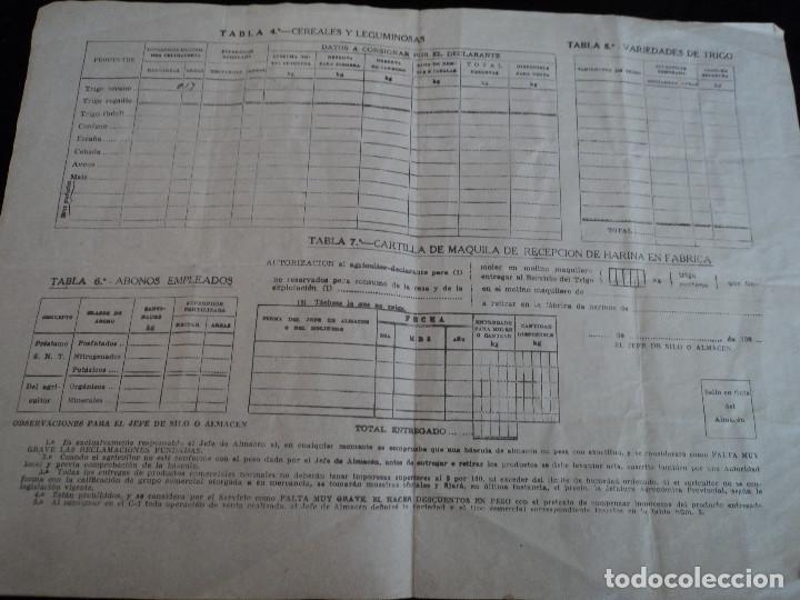 Coleccionismo: servicio nacional del trigo novelda 1957 polizas de 25 y 50 cts - Foto 3 - 221793933