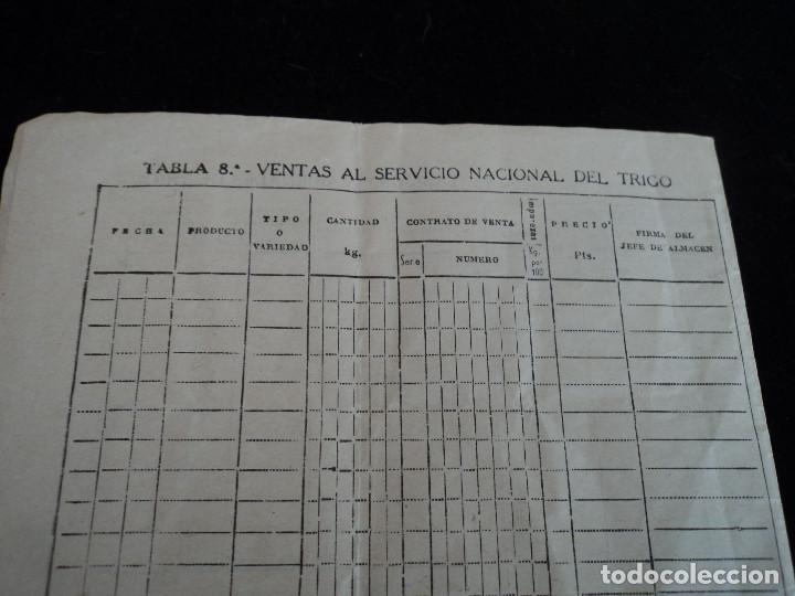 Coleccionismo: servicio nacional del trigo novelda 1957 polizas de 25 y 50 cts - Foto 4 - 221793933