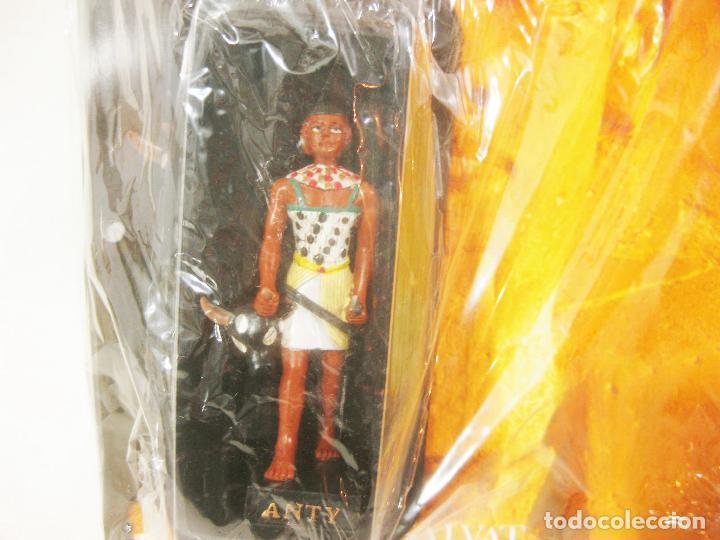 Coleccionismo: FIGURA CON BLISTER DE ANTY - FASCICULO 74 DE LOS MISTERIOS DE LOS DIOSES EGIPCIOS SALVAT - Foto 2 - 221864362