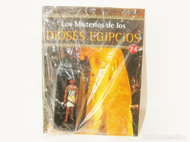 FIGURA CON BLISTER DE ANTY - FASCICULO 74 DE LOS MISTERIOS DE LOS DIOSES EGIPCIOS SALVAT (Coleccionismo - Varios)
