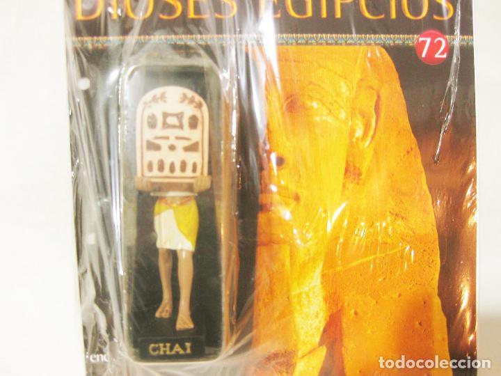 Coleccionismo: FIGURA CON BLISTER DE CHAI - FASCICULO 72 DE LOS MISTERIOS DE LOS DIOSES EGIPCIOS SALVAT - Foto 2 - 221865028