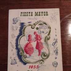 Coleccionismo: PROGRAMA DE FIESTAS - 1955 - LA TORRASSA - HOSPITALET DE LLOBREGAT. Lote 221879746