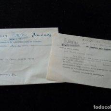 Coleccionismo: CARTA RECORDATORIO VENCIMIENTO DEL GIRO A SU CARGO 1963 ALFONSO JIMENEZ JUMILLA. Lote 221883272