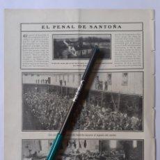 Coleccionismo: EL PENAL DE SANTOÑA. EL DUESO. 1907.. Lote 221890153