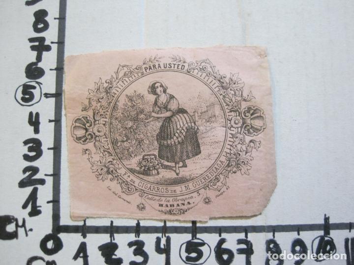 Coleccionismo: CUBA-HABANA-FABRICA DE CIGARROS DE J.M. GUEREDIAGA-PUBLICIDAD-VER FOTOS-(74.972) - Foto 5 - 221960506