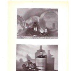 Coleccionismo: AÑO 1929 LAMINA FOTOGRAFICA DOS FOTOGRAFIAS DEL FOTOGRAFO MASSANA. Lote 222071235