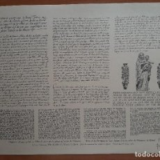 Coleccionismo: DOCUMENTO DE PÁGINAS DEL LIBRO DE NOTAS DEL RÉCTOR DE LA IGLESIA DE VILANOVA I GELTRÚ / EN CATALÁN. Lote 222193671