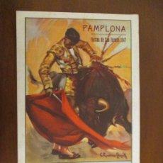 Collectionnisme: PROGRAMA DE FESTEJOS TAURINOS. SAN FERMÍN 1947. PAMPLONA. NAVARRA.. Lote 222203062