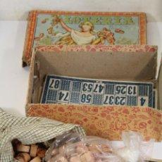 Coleccionismo: CAJA ANTIGUA DE LOTERIA. Lote 222303152
