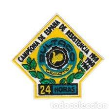Coleccionismo: PARCHE BORDADO BULTACO CAMPEONA DE RESISTENCIA ARTICULO NUEVO. Lote 222396562