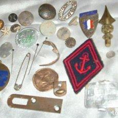 Coleccionismo: OBJETOS ANTIGUOS LOTE DE 34 A IDENTIFICAR-- LEER DESCRIPCION Y VER FOTOS. Lote 222497713