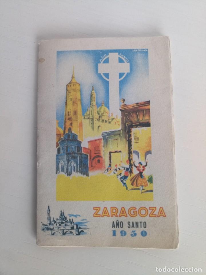 LIBRETO GUÍA ZARAGOZA 1950 (Coleccionismo - Laminas, Programas y Otros Documentos)