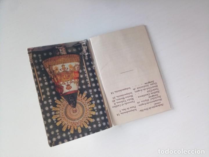 Coleccionismo: Libreto guía Zaragoza 1950 - Foto 2 - 222541877