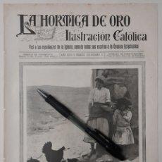 Coleccionismo: LA HORA DEL RANCHO (COMPOSICIÓN FOTOGRÁFICA DE P. ROMAN, DE TOLEDO) 1918. Lote 222827578