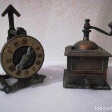"""Collezionismo: LOTE DE SACAPUNTAS DE COBRE """"PLAY ME"""" FABRICADOS EN ESPAÑA AÑOS 70 RADIO- MOLINILLO- RELOJ. Lote 223379917"""