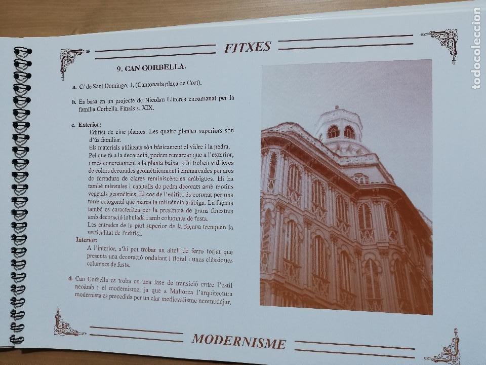 Coleccionismo: EL MODERNISME A MALLORCA. MATERIAL COMPLEMENTARI (GOVERN BALEAR) - Foto 6 - 223411641