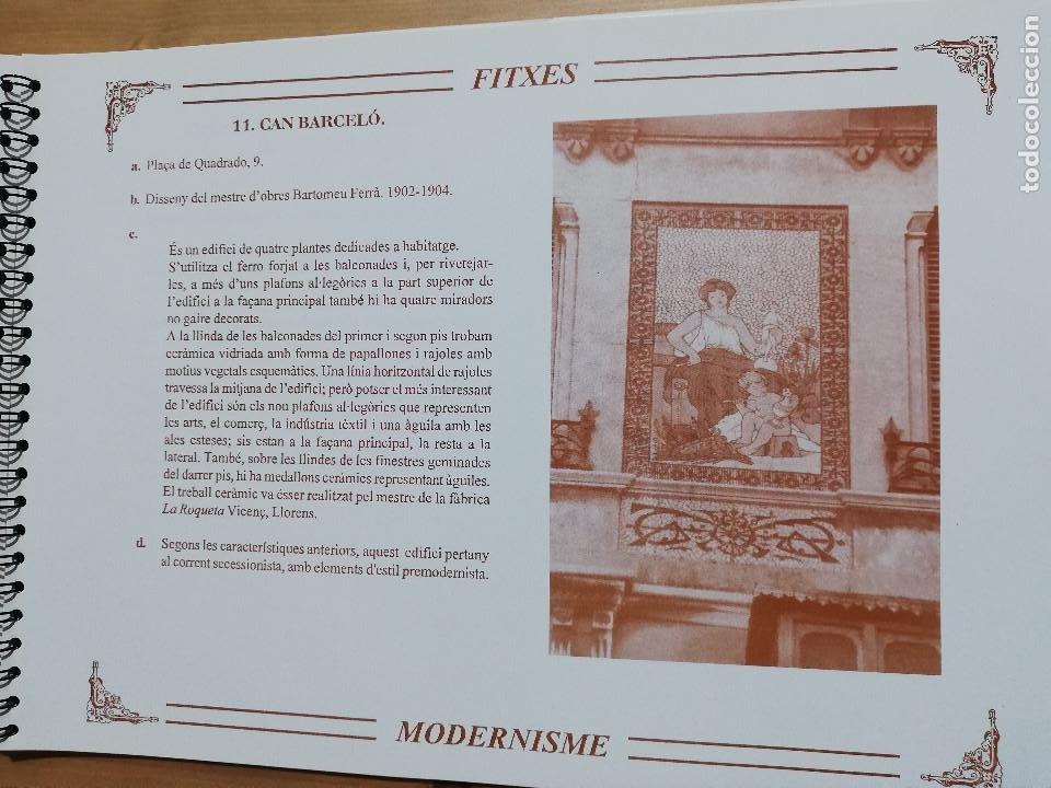Coleccionismo: EL MODERNISME A MALLORCA. MATERIAL COMPLEMENTARI (GOVERN BALEAR) - Foto 7 - 223411641