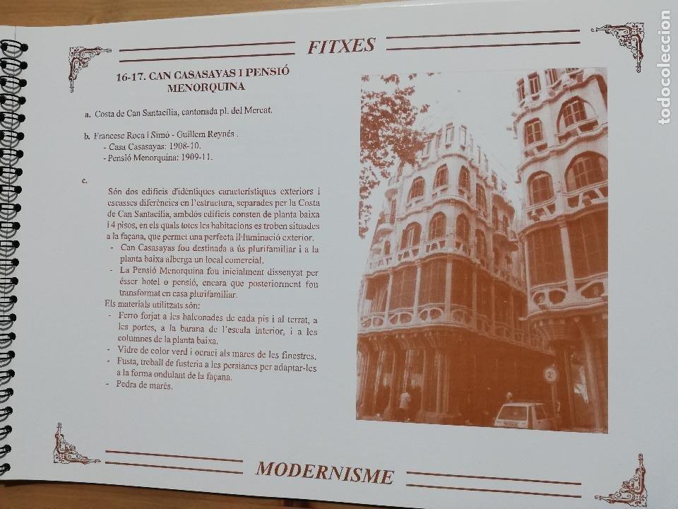 Coleccionismo: EL MODERNISME A MALLORCA. MATERIAL COMPLEMENTARI (GOVERN BALEAR) - Foto 8 - 223411641