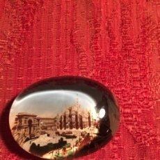 Coleccionismo: ANTIGUO PISA PAPELES DE CRISTAL CON FOTOGRAFIA DE ROMA AÑOS 70-80. Lote 224486375