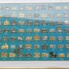 Coleccionismo: LLAMADORES DE LA SEMANA SANTA DE SEVILLA II - ABC Y CAJASUR - ENMARCADO.. Lote 224967671