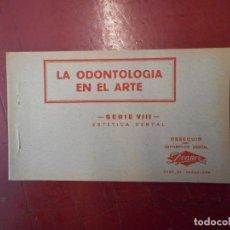 Collezionismo: LA ODONTOLOGÍA EN EL ARTE. SERIE VIII. ESTÉTICA DENTAL.. Lote 224990330