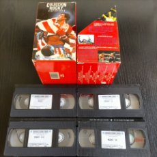 Coleccionismo: COLECCIÓN ROCKY VHS ROCKY 5 VHS , ROCKY L,LL,LLL,LV, V. MHM/UA. HOME VIDEO . UA: UNITED ARTISTS, 12. Lote 225145518