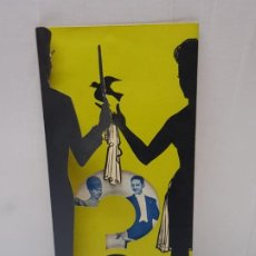 Coleccionismo: FOLLETO TROQUELADO PUBLICIDAD MAGIA MAXEL AND MARY 3° PREMIO MUNDIAL 1964. Lote 225591898
