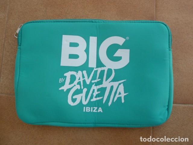 Coleccionismo: Neceser publicidad fiesta BIG. David Guetta. Ibiza - Foto 2 - 225932520