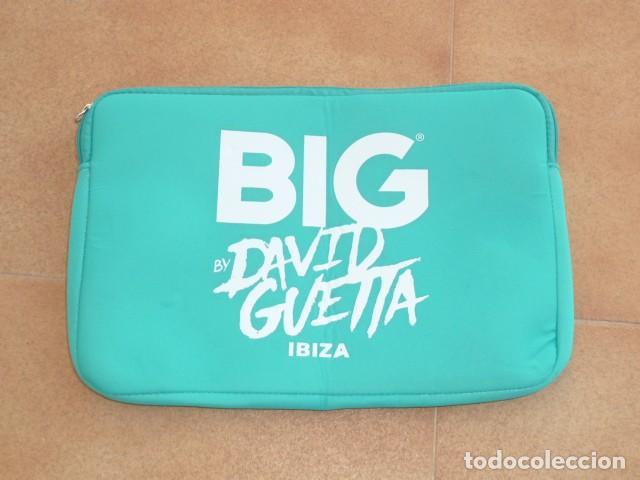 Coleccionismo: Neceser publicidad fiesta BIG. David Guetta. Ibiza - Foto 7 - 225932520
