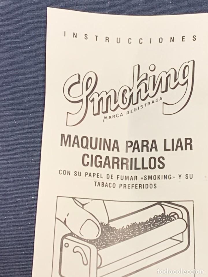Coleccionismo: MAQUINA LIAR CIGARRILLOS SMOKING CIGARETTES ROLLING MACHINE 3X3X12,5CMS - Foto 5 - 226111520