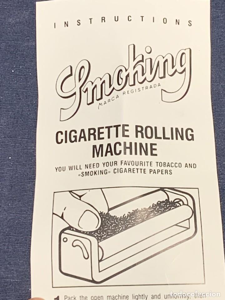 Coleccionismo: MAQUINA LIAR CIGARRILLOS SMOKING CIGARETTES ROLLING MACHINE 3X3X12,5CMS - Foto 8 - 226111520